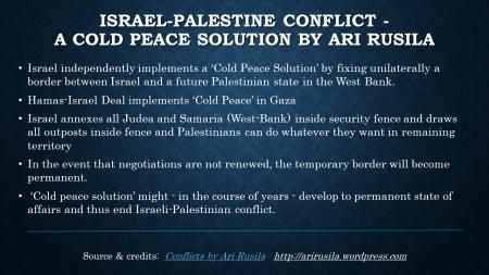 Cold-Peace-Solution by Ari Rusila
