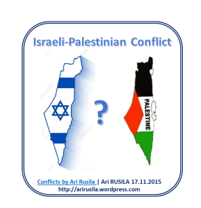 a discussion of the solutions to the israeli palestine conflict So, what are the two-state and one-state solutions for ending the israel-palestinian conflict that has persisted since the founding of the israeli state in 1948.