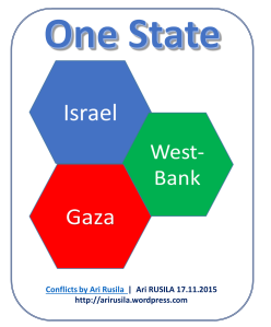 Israeli-Palestinian conflict, one.state solution