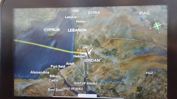 War of maps israel vs palestine arirusilas conflicts according the times of israel august 19 2015 israel is not on royal jordanians map photo below was taken of the on board map on a royal jordanian gumiabroncs Images