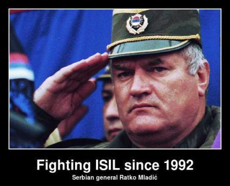 Figting-ISIL -_- Ratko Mladic,