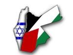 Jordan is Palestine Map low res