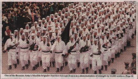 mujahedeen army, Bosnia